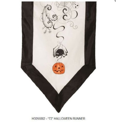"RAZ Imports - 72"" Halloween Table Runner"