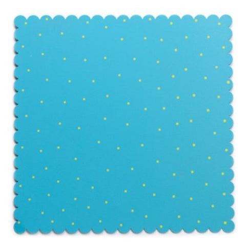 Embellish Your Story Aqua & Green Magnetic Memo Board Medium