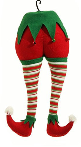 "RAZ Imports - Peppermint Toy - 20"" Christmas Elf Christmas Tree Ornament All Colors (Both Ornaments)"