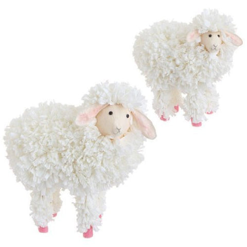 "RAZ Imports - 11.5"" Spring Sheep (Set of 2)"