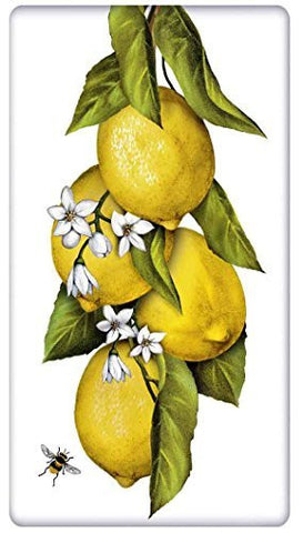 Mary Lake-Thompson - Hanging Lemons on a Branch Flour Sack Towel