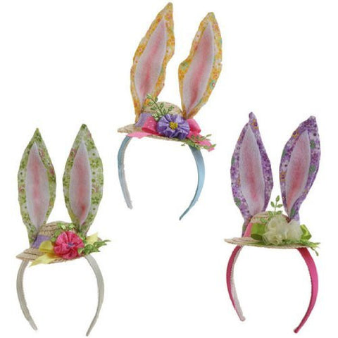 "RAZ Imports - 11"" Easter Bunny/Rabbit Ear Headbands"