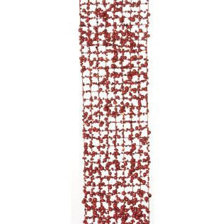 RAZ Imports - Red Wired Mesh Garland 60""