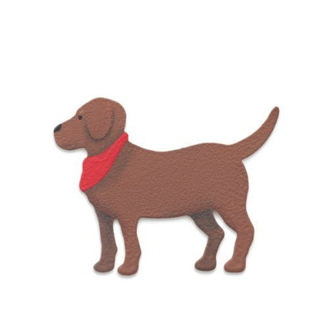 Demdaco - Embellish Your Story - Brown Dog Magnet