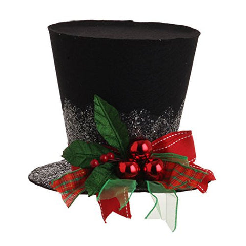 RAZ Imports Black Hat Decoration