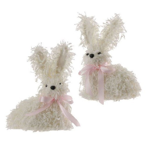 "10"" Bunny Display Pieces (Set of 2)"