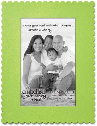 "Embellish Your Story Green Frame Magnet - 4"" x 6"" - Embellish Your Story Roeda 101697-EMB"