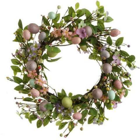 "Raz Imports 18"" Easter Egg Wreath"