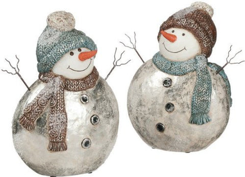 "Sullivans - 12"" Snowmen (Set of 2)"