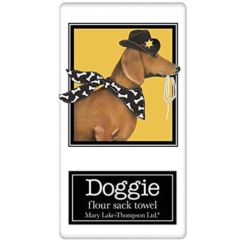 Mary Lake-Thompson - Dog Halloween Dachshund Bagged Towel