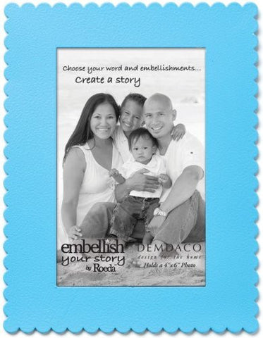 "Embellish Your Story Blue Frame Magnet - 4"" x 6"" - Embellish Your Story Roeda 101700-EMB"