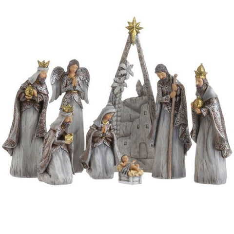 "RAZ Imports - 12.5"" Nativity Scene Display Pieces"