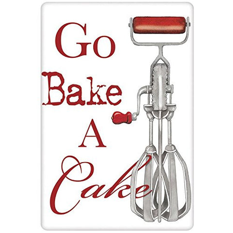 Mary Lake-Thompson - Go Bake a Cake-Eggbeater Bagged Towel
