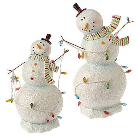 "RAZ Imports - 12.5"" Lighted Snowman"