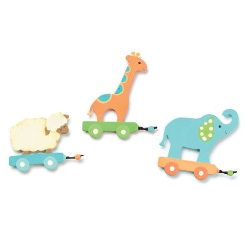 Embellish Your Story Pull Toy Magnets - Set of 3 Assorted - Embellish Your Story Roeda 101347-EMB