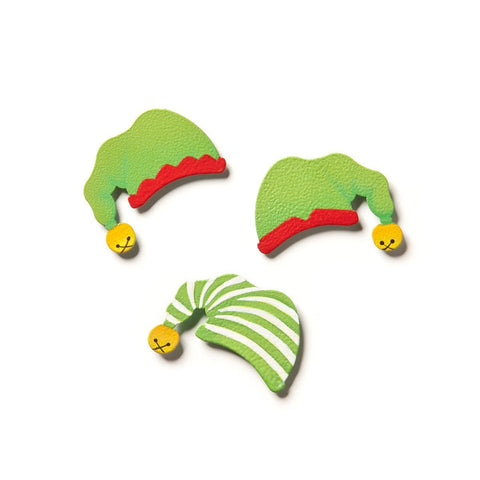 Embellish Your Story Elf Hat Magnets Set of 3 Asst. - Magnets Photo Frame Embellish E00047EYS