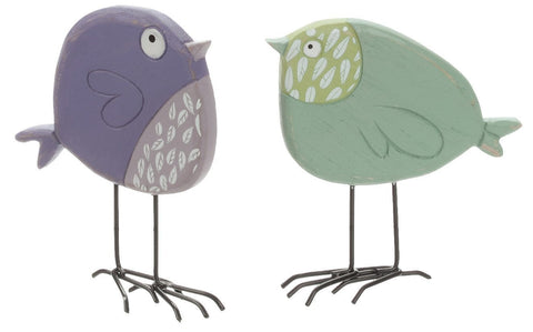 Sullivans - Green and Purple Birds 5""