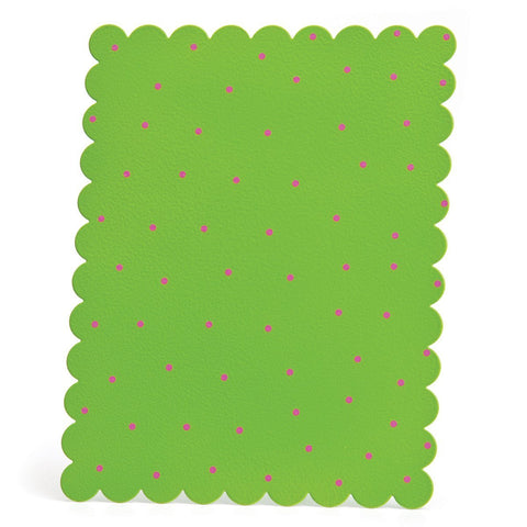 Embellish Your Story Green w/Pink Dots Magnetic Memo Board - Embellish Your Story Roeda 14272-EMB