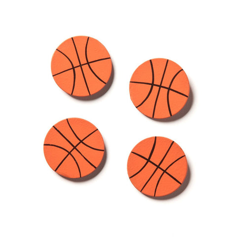 Embellish Your Story Basketball Magnets - Set of 4 - Magnets Photo Frame Embellish E00024EYS