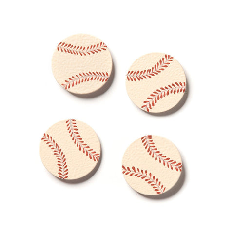 Embellish Your Story Baseball Magnets - Set of 4 - Photo Frame Embellish E00026EYS
