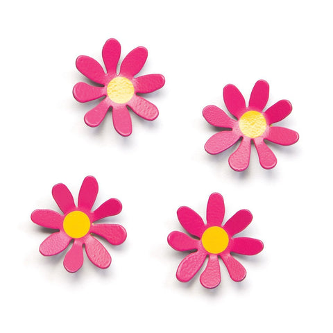 Embellish Your Story Pink Daisy Magnets - Set of 4 - Embellish Your Story Roeda 14280-EMB