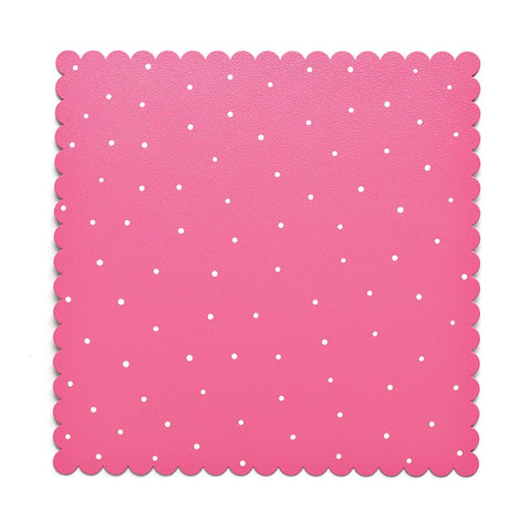 "Embellish Your Story Pink/White Magnetic Memo Board - 12""sq. - Embellish Your Story Roeda 100880-EMB"