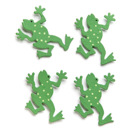 Embellish Your Story Frog Magnets - Set of 4 - Embellish Your Story Roeda 18970-EMB