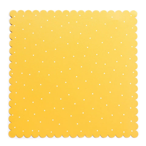 Embellish Your Story Yellow w/ Dots Magnetic Board LG