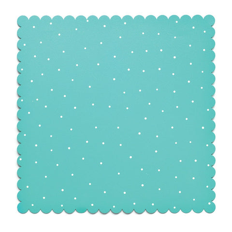 "Embellish Your Story Teal/White Magnetic Memo Board - 16""sq. - Embellish Your Story Roeda 100869-EMB by Demdaco"