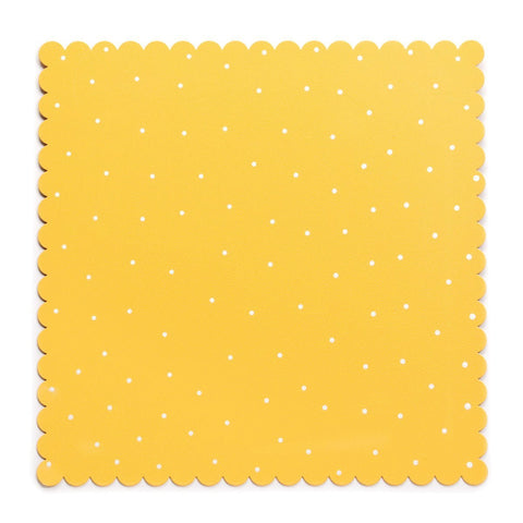 Embelish Your Story Yellow Dots Magnetic Board Sm