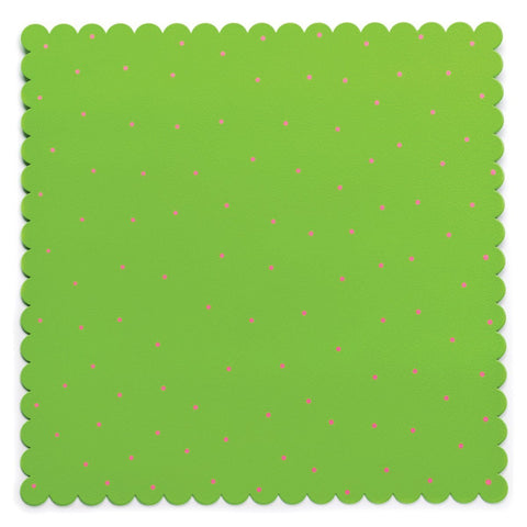 Embellish Your Story Green w/Pink Dots Magnetic Memo Board - Embellish Your Story Roeda 14255-EMB