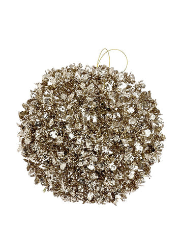 "RAZ Imports - 6"" GLITTERED BALL ORNAMENT"