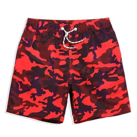 RED CAMO, SWIMWEAR, Frank Anthony Swimwear®, fa-brand