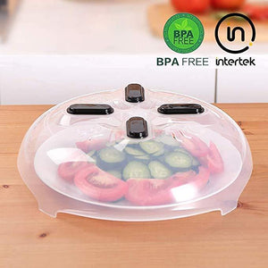 Klbjames-(60% off and Buy 2 Free Shipping) Food-grade material-Anti-sputter microwave plate cover with Magnetic