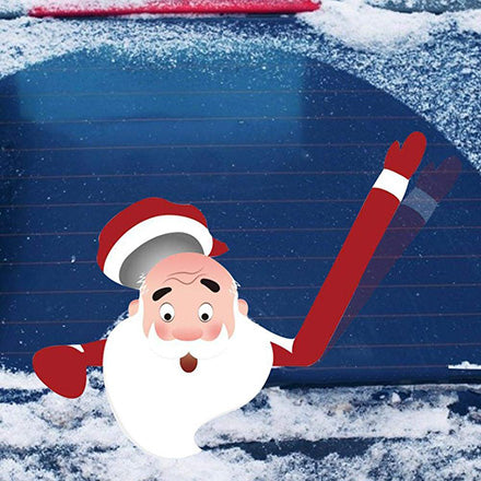 Klbjames-Christmas car rear window wiper sticker