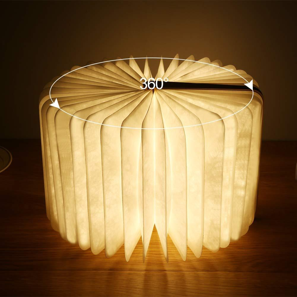 Klbjames-Fabulous LED Folding Book Lamp-【Halloween & Christmas essentials】
