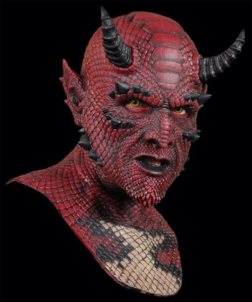 Klbjames-Halloween Realistic Scary Mask Belial the Demon