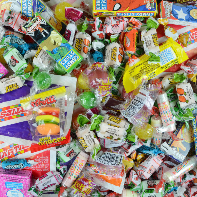 2785 Ct Premium Candy Crane Mix - Wholesale Vending Products