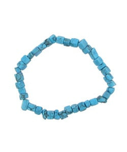 12 Turquoise Stone Bracelets - Wholesale Vending Products