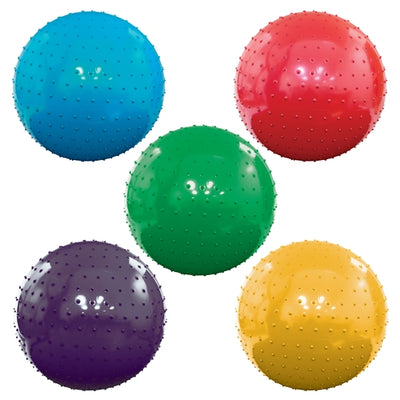 Inflatable Assorted Color Knobby Balls - 18''