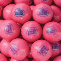 "850 Dubble Bubble 1928 Original Pink Gumballs - 1"" - Wholesale Vending Products"