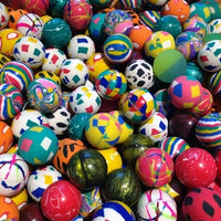 "10,000 Premium Quality 27mm 1"" Bouncy Balls - Includes Shipping - Wholesale Vending Products"