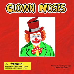 "250 Clown Noses in 2"" Capsules - Wholesale Vending Products"