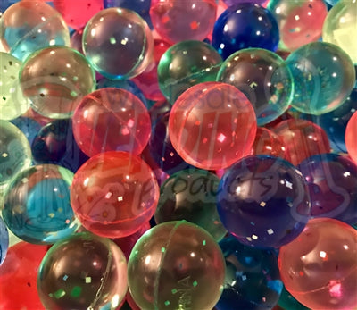 144 Glitter Colored Sparkle Balls 1
