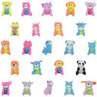 "144 PCS 6-8"" Plush Mix For Crane Machines - Wholesale Vending Products"
