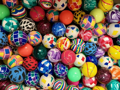 400 45mm Bouncy Ball Assortment - Wholesale Vending Products