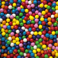 "Dubble Bubble .50"" 1/2"" Gumballs - Less Than Full Case - Wholesale Vending Products"
