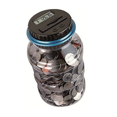 Coin Counting Plastic Bank (Ships Free) - Wholesale Vending Products