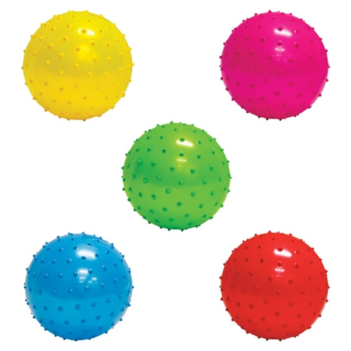 Inflatable Assorted Knobby Balls - 5''