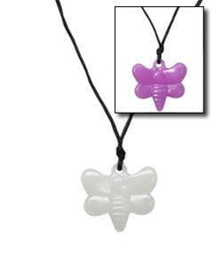 24 Color Changing UV Dragonfly Pendants - Wholesale Vending Products